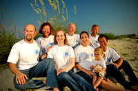 Joyce Shuman Family Beach Portraits